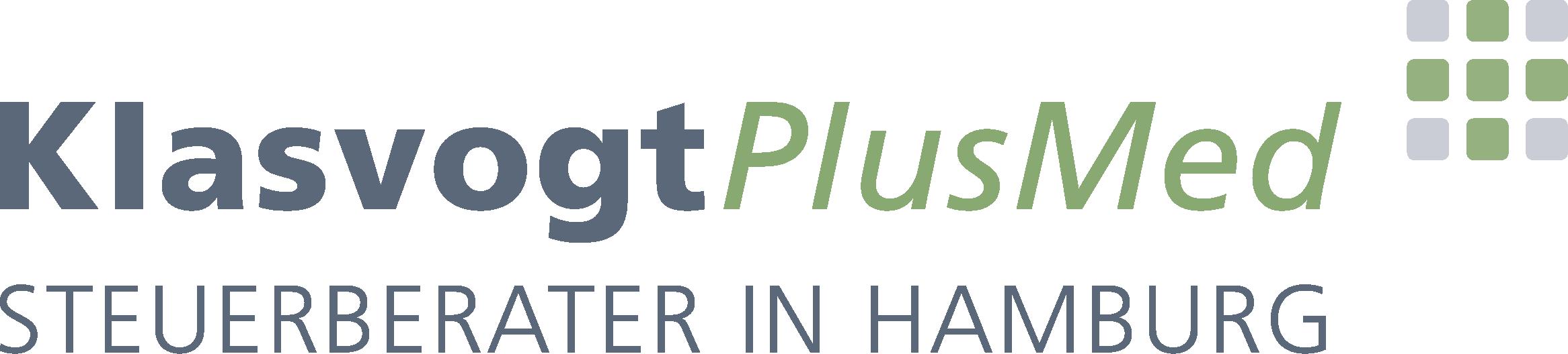 KlasvogtPlusMed · Steuerberatung für Ärzte, Zahnärzte und Heilberufe in Hamburg-logo